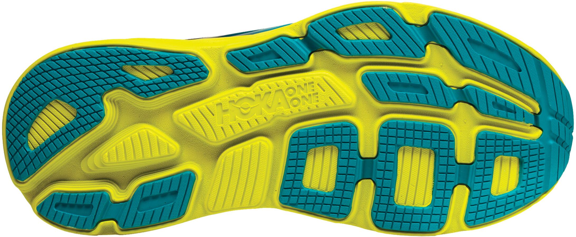 new arrivals 5988c ca11f Hoka One One Bondi 6 - Chaussures running Homme - jaune bleu